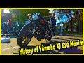 History of Yamaha XJ 650 Maxim 1980. Custom Japanese Motorcycles. Old Motorcycles of the 80s