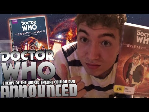 Doctor Who Enemy Of The World Special Edition DVD Announced!