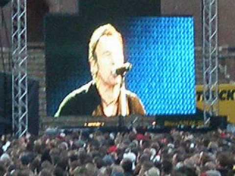 Bruce Springsteen-Lost in the flood-Stockholm 5June2009 mp3