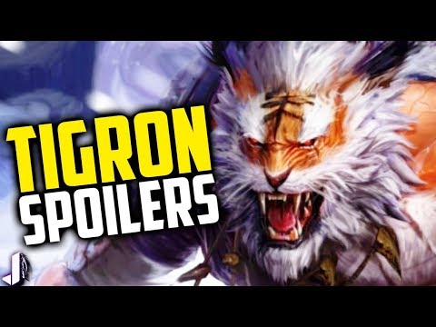TIGRON Paladins New Champion Revealed & More Spoilers!