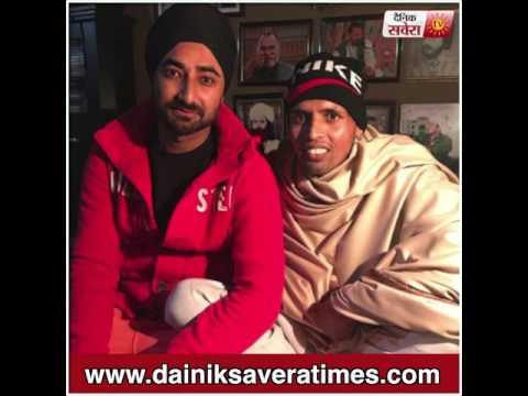 Charan Likhari Clarifies About His Fake Controversy With Ranjit Bawa   Dainik Savera
