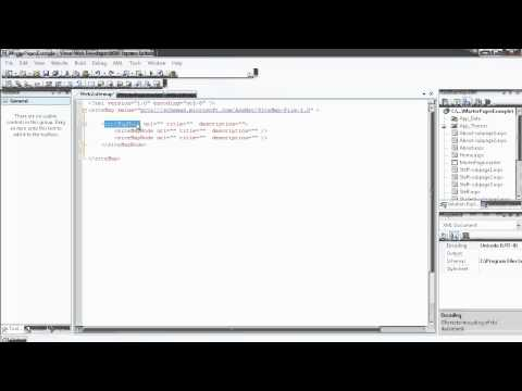 35 - Creating ASP Site Map