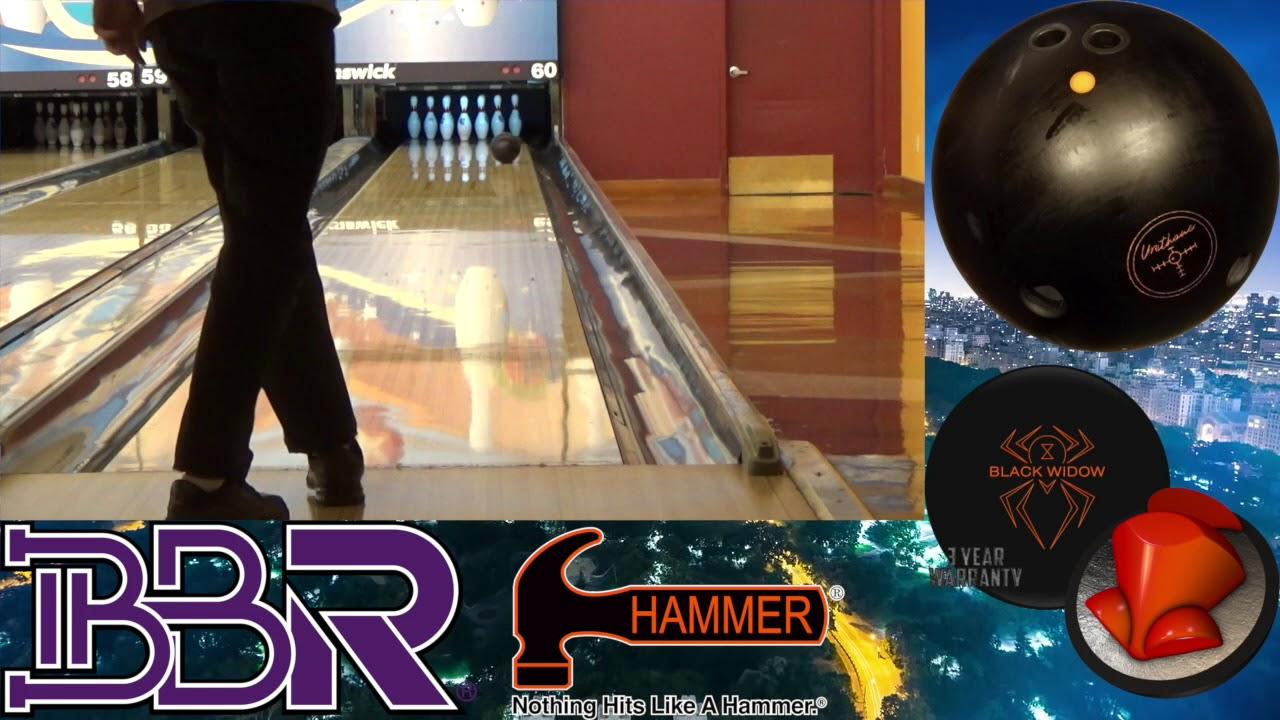 Hammer Black Widow Urethane Bowling Ball Reaction Video By Matt Dobbs Brooklyn Ball Reviews