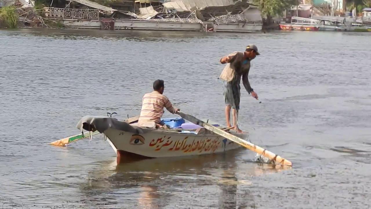 طريقة صيد السمك مراكب الصيد بالشباك من النيل | 🎣🐟 - YouTube