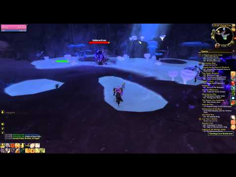 How to get Glowing Cave Mushroom WoW Treasure