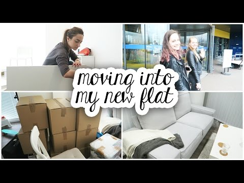Moving into my new London flat! | Vlog