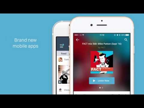 Brand New Mixcloud Mobile Apps