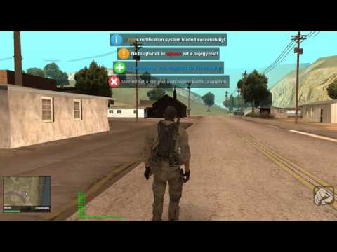 Multi Theft Auto - Simple Notification System Showcase