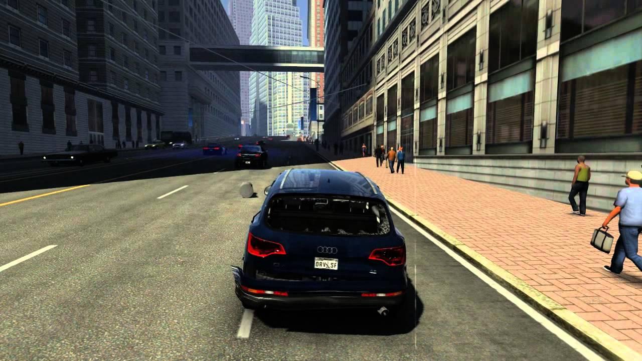Driver San Francisco AUDI Q FSI Quattro And Police Vs PANAGI - Audi san francisco
