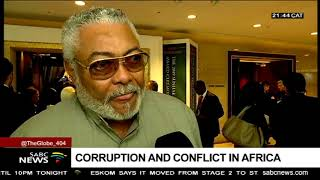 Scourge of corruption and conflict in Africa: Jerry Rawlings