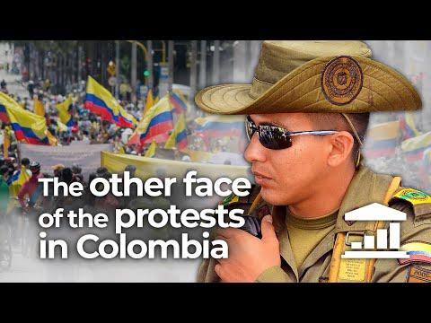 Why are the COLOMBIAN POLICE so VIOLENT? - VisualPolitik EN