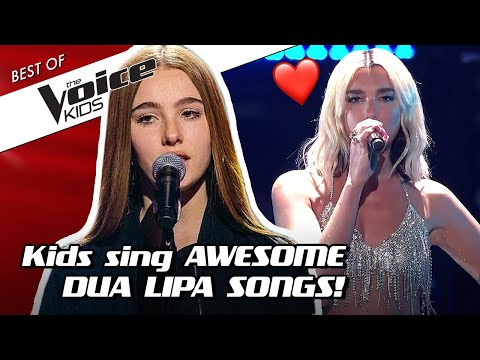 TOP 10 | Would DUA LIPA Turn For These Young Singers In The Voice Kids?