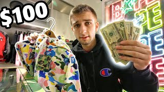 WHAT CAN $100 BUY YOU AT BAPE?! THIS was SHOCKING