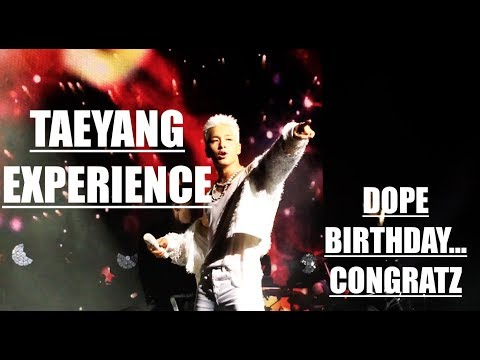 TAEYANG WHITENIGHT CONCERT EXPERIENCE
