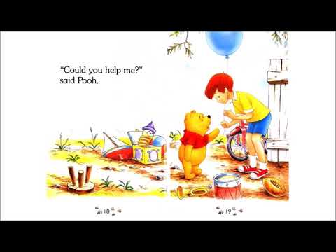 WINNIE THE POOH AND THE HONEY TREE |  KIDS READING BOOK WITH ENGLISH SUBTITLES