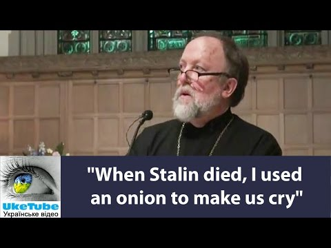 """When Stalin died, I used an onion to make us cry"", Mustafa Dzhemilev"