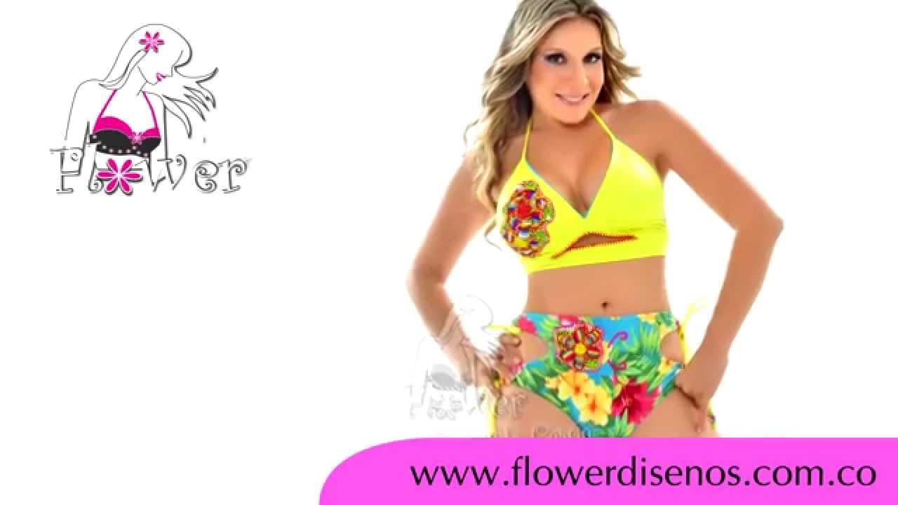 Vestidos de ba o y accesorios flower youtube for Catalogo de accesorios para bano