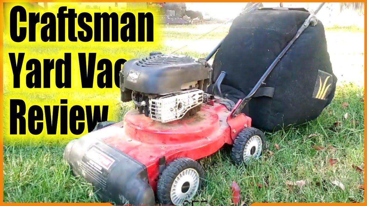 Craftsman Yard Vacuum Review
