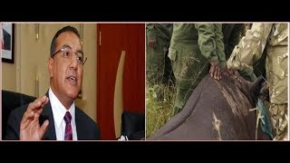 CS Najib Balala loses another Rhino to poachers even as he tell Kenyans to go to hell