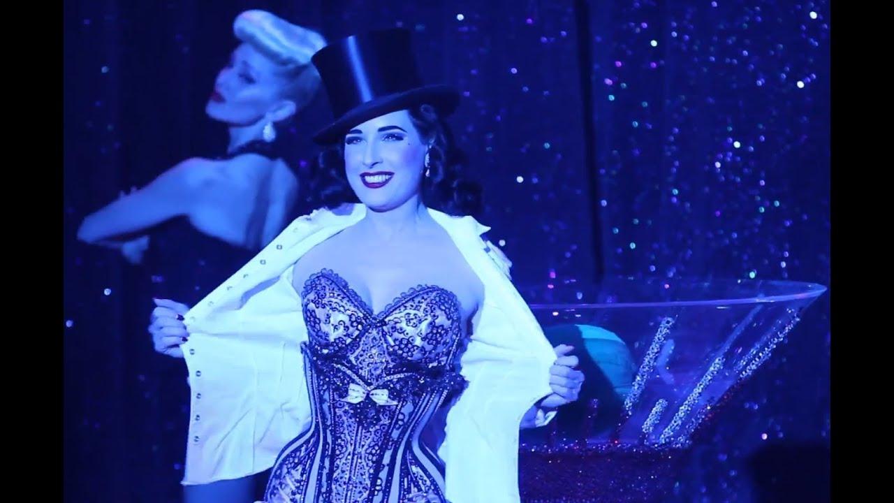 Sexy Dita Von Teese  Strip Strip Hooray!  House Of Blues
