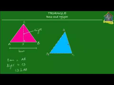 Singapore Math, Grade 5 / Primary 5: Measurement - Triangle base and height