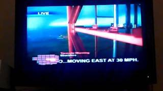 Joplin Tornado EF5 Missouri May 22nd KSNF Channel 16 Tower Camera coverage..