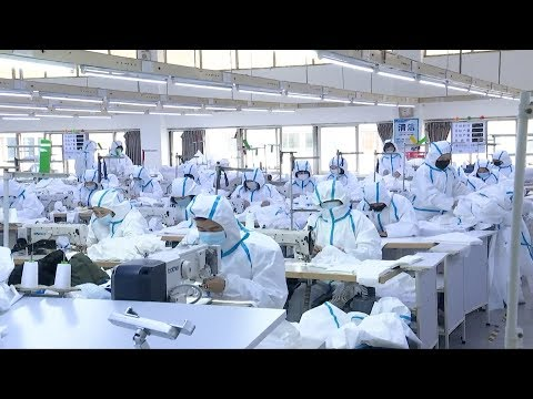 Chinese companies speed up protecting clothing production