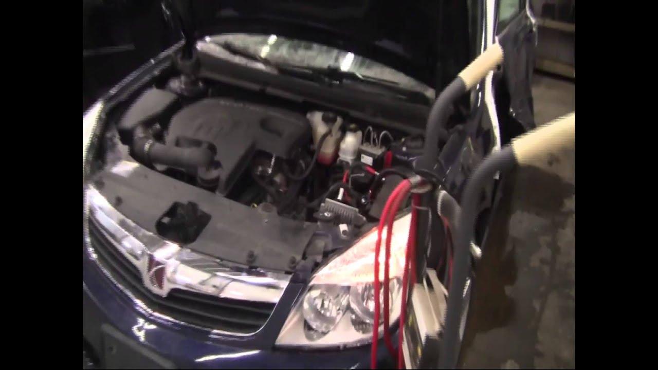 2008 Saturn Vue Xr Black Oil Change