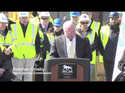 MGM Springfield: Ground Breaking Ceremony - March 24, 2015