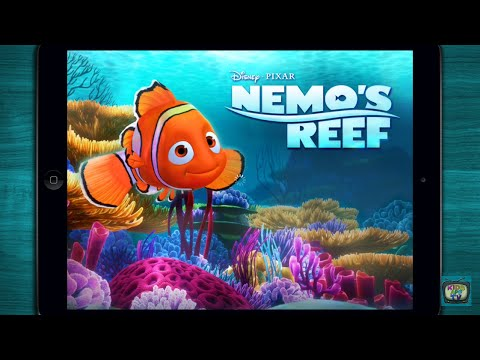 ♥ Nemo's Reef - Build A Beautiful Reef - Cute Disney App For Kids (Android/iOS)