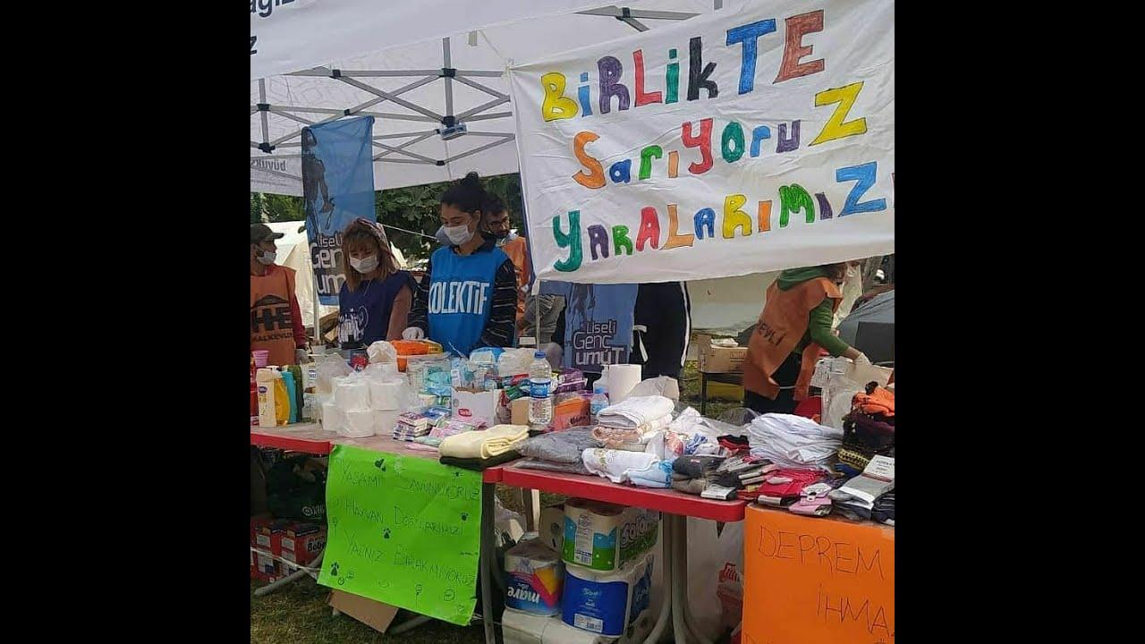 İzmir Depremi | Yaşanılabilir İzmir İçin #BizGeleceğiz - Öğrenci Kolektifleri & Liseli Genç Umut