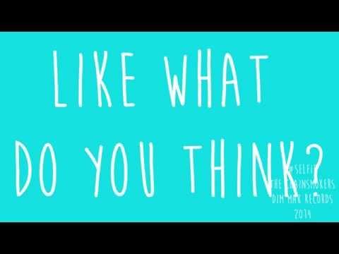#Selfie - Chainsmokers | Lyrics Video | CLEAN