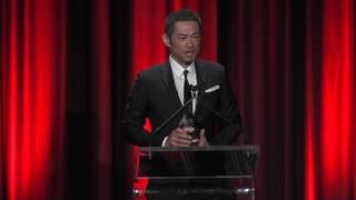 今年度の「ルー・ゲーリッグ賞」 Ichiro's acceptance speech from MLB....