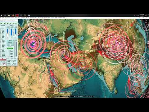 11/21/2018 -- West Coast USA VOLCANIC HOT SPOTS hit by Earthquakes + Fires -- ALERT - 동영상
