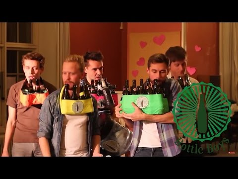 Bottle Boys - We Are Never Ever Getting Back Together (Taylor Swift cover on Beer Bottles)