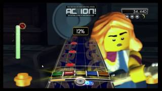 Breakout - Foo Fighters - Lego Rock Band Wii Expert Guitar FC