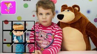 Маша и Медведь к вашим услугам Новая серия машу заколдовали спасаем машу от Румпеля