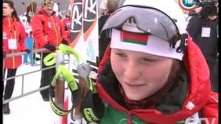 CTV.BY: Второе золото юниорского чемпионата мира по биатлону завоевала сборная Беларуси