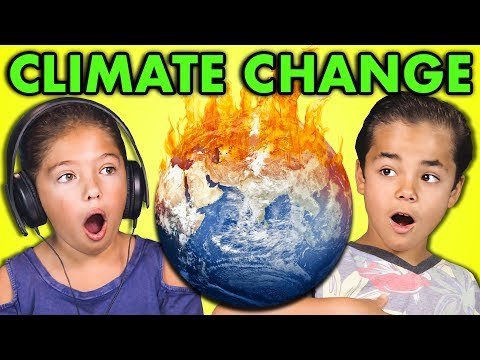 Kids react to climate change