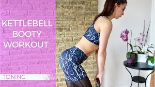 Kettlebell Booty Workout | 12 Minute Routine