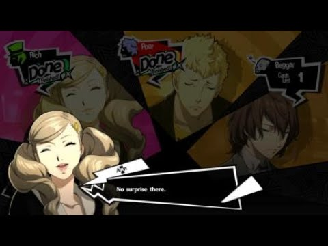 Persona 5 Royal but there's no surprises to be had in Tycoon