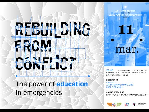 Rebuilding From Conflict - Sultan Barakat, Jo Beall and President Jorge Sampaio
