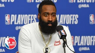 James Harden: Rockets have 'no chance' unless they play Warriors physically | 2019 NBA Playoffs