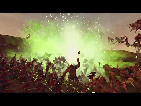 Скавены и Вампиры, против Бретонии .Total War Warhammer-2.Сетевая кампания один на один.