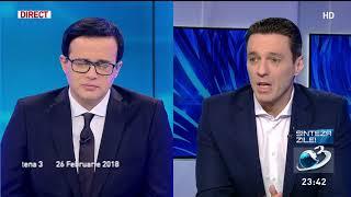 """Mircea Badea, despre decizia ÎCCJ cu privire la dosarul lui Paul Stănescu: """"Sunt absolut terifia"""