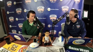 Dunc and Holder on Sports 1280 in New Orleans. March 6, 2018