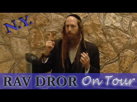 Rav Dror on Tour - Satan's Secret and How to Beat Him Every Time