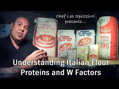 Understanding Italian Flour Proteins and W Factors