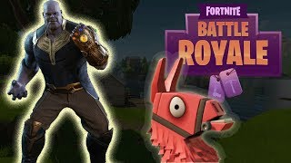 EPIC Fortnite *THANOS* Gameplay! New Game Mode Infinity Gauntlet!