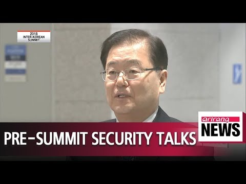 Top security advisers of South Korea, U.S. meet ahead of North Korea summits